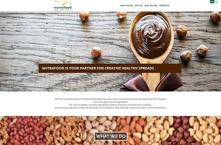 Nutrafood - healthy food creator